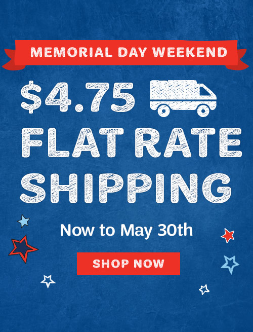 Council shop flat rate shipping sale through May 30