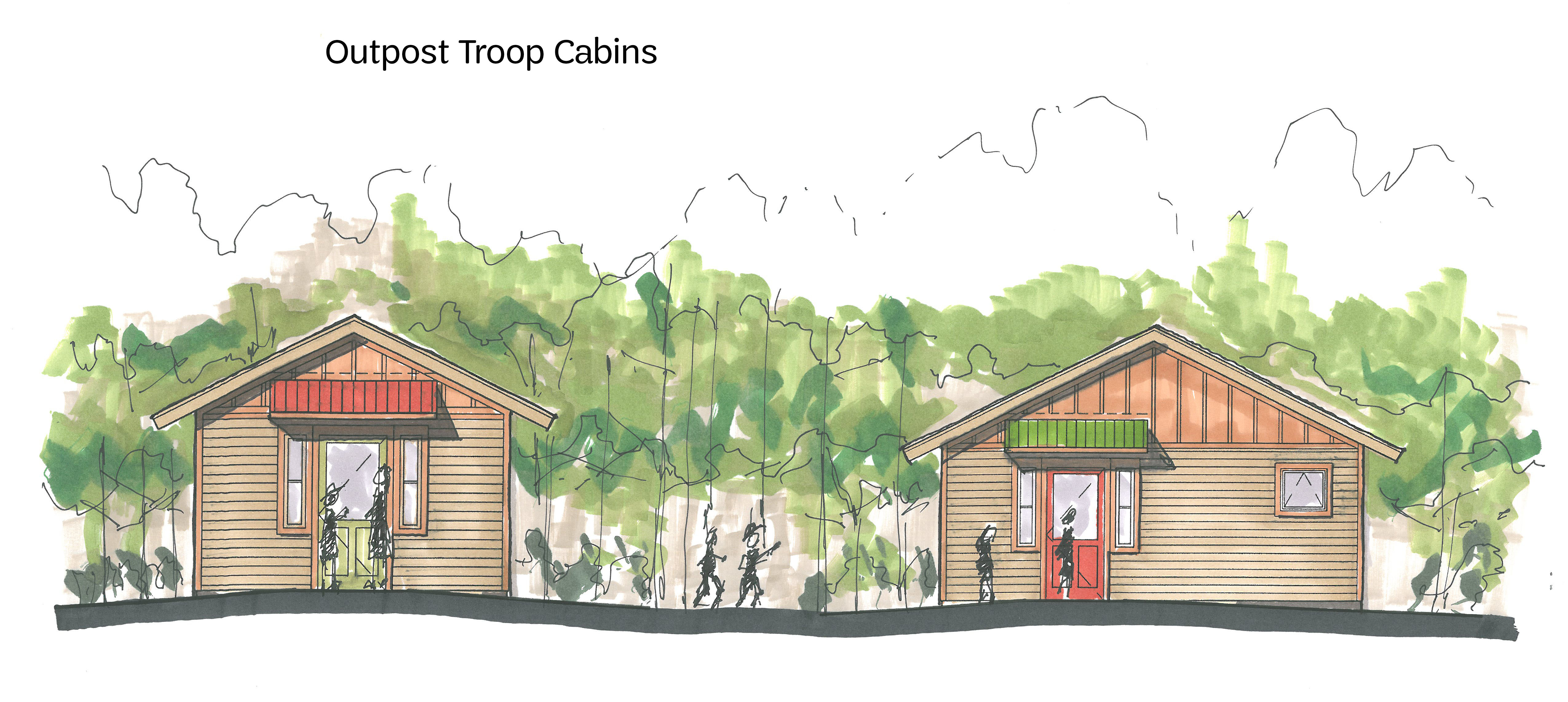 Camp ledgewood girl scouts of north east ohio for Camp joy ohio cabins