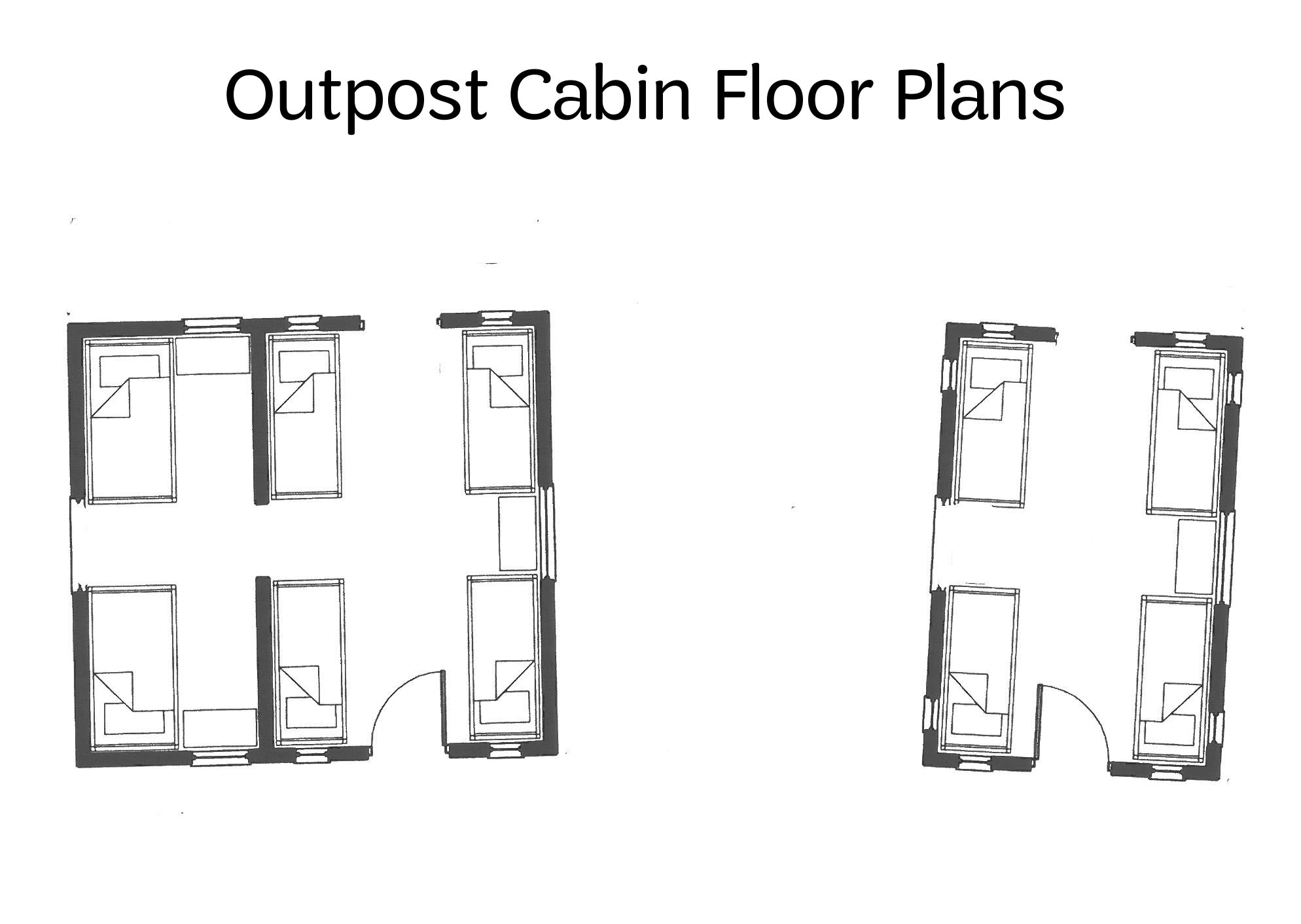 Summer camp cabin plans the image kid for Camp plans